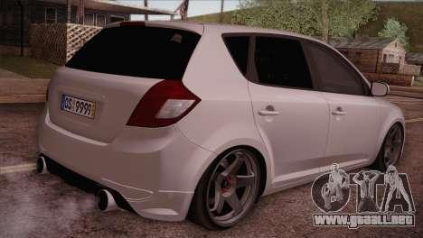 Kia Ceed 2011 para GTA San Andreas left