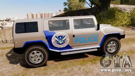 Patriot Police v2.0 para GTA 4 left