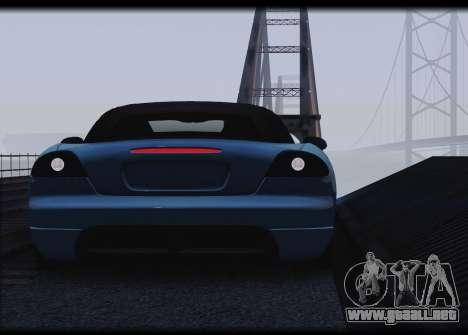 Dodge Viper SRT-10 para la visión correcta GTA San Andreas