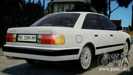 Audi 100 C4 1993 para GTA 4 left