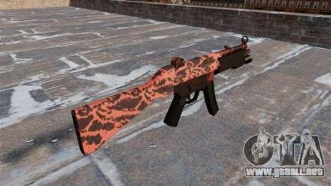 El subfusil HK MP5 para GTA 4 segundos de pantalla