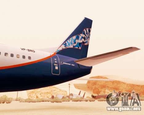 Boeing 737-500, la