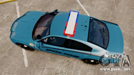 Dodge Charger 2011 LCPD [ELS] para GTA 4 visión correcta