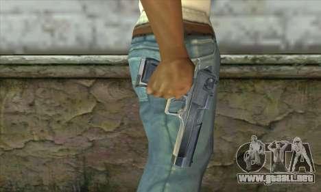 La pistola de Stalker para GTA San Andreas tercera pantalla