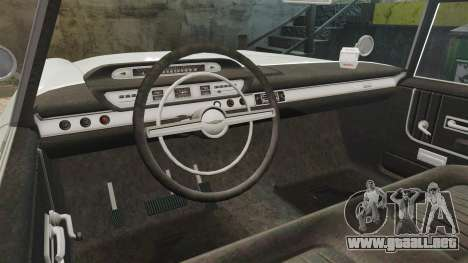 Oceanic HD para GTA 4 vista interior
