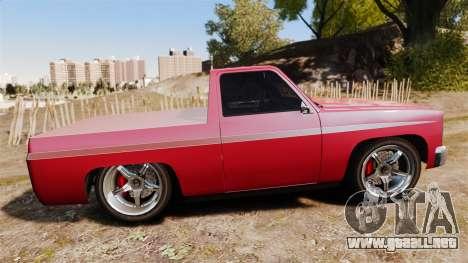 Rancher Lowride para GTA 4 left