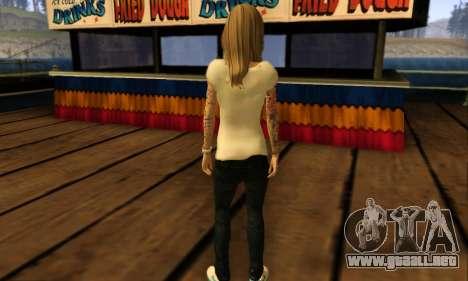 Catrina Skin para GTA San Andreas quinta pantalla