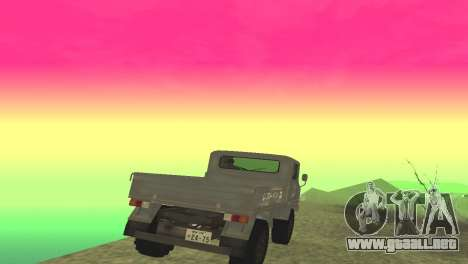 Mitsubishi 2W400 para la visión correcta GTA San Andreas