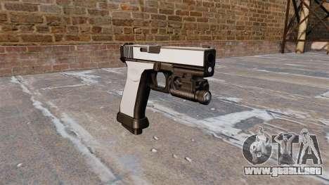 Pistola Glock 20 Chrome para GTA 4
