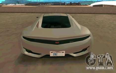 GTA V Dinka Jester para la visión correcta GTA San Andreas