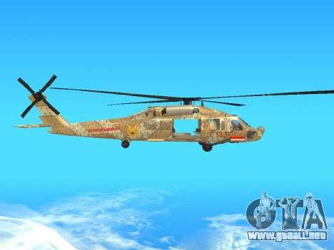 SH-60  Batik Indonesia para GTA San Andreas vista hacia atrás