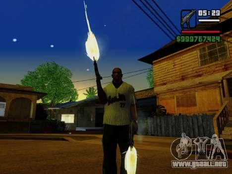 La subametralladora UZI para GTA San Andreas décimo de pantalla
