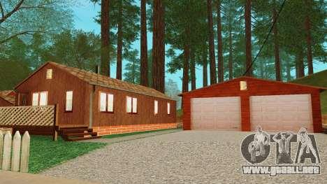 Una casa en el pueblo para GTA San Andreas quinta pantalla