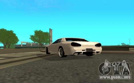 Elegy By Eweest v0.1 para GTA San Andreas vista posterior izquierda