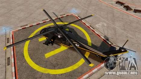 GTA V Annihilator para GTA 4 visión correcta