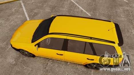 Volkswagen Parati G4 Track and Field 2013 para GTA 4 visión correcta
