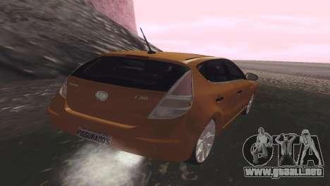 Hyundai i30 para GTA San Andreas vista posterior izquierda