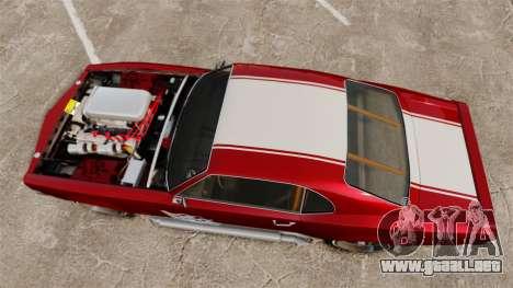 Declasse SabreGT Mexican Style para GTA 4 visión correcta