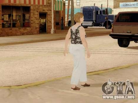 Una mujer de edad avanzada v.2 para GTA San Andreas undécima de pantalla