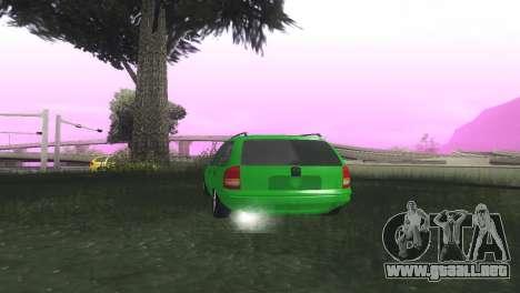 Chevrolet Corsa Wagon para GTA San Andreas vista posterior izquierda