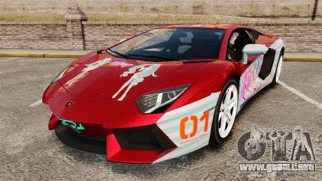 Lamborghini Aventador LP700-4 2012 [EPM] Miku 2 para GTA 4