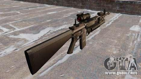 Táctica rifle M16A4 para GTA 4 segundos de pantalla