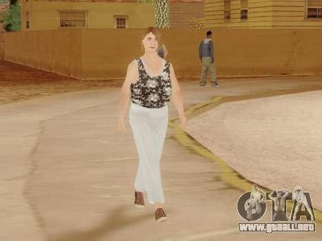 Una mujer de edad avanzada v.2 para GTA San Andreas twelth pantalla