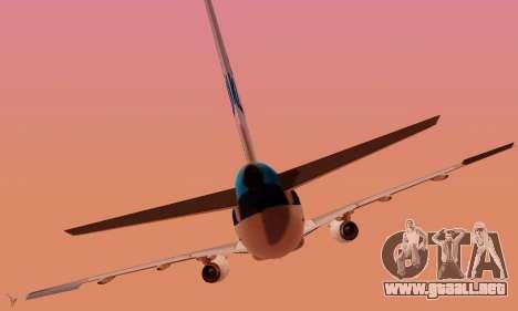 Airbus A319 KLM para GTA San Andreas interior