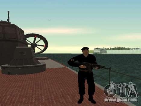 El Cuerpo de infantería de marina de las fuerzas para GTA San Andreas segunda pantalla