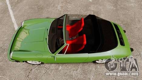 Porsche 911 Targa 1974 para GTA 4 visión correcta