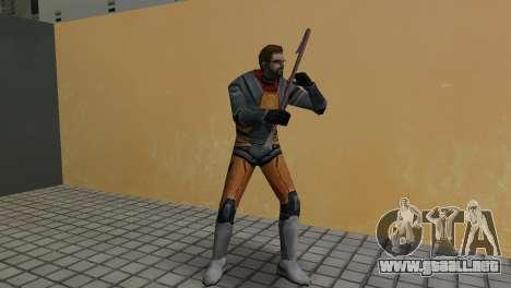 Gordon Freeman para GTA Vice City tercera pantalla