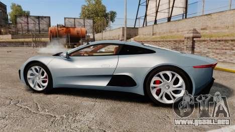 Jaguar C-X75 2014 [EPM] para GTA 4 left