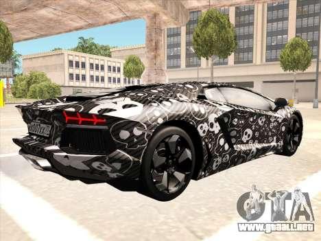 Lamborghini Aventador LP700-4 2013 para la visión correcta GTA San Andreas