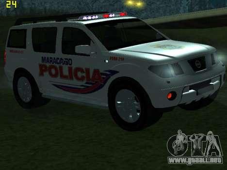 Nissan Pathfinder Polimaracaibo para vista inferior GTA San Andreas