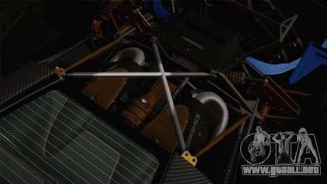 Pagani Huayra para las ruedas de GTA San Andreas