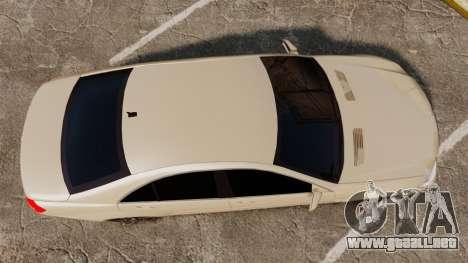 Mercedes-Benz S65 (W221) AMG para GTA 4 visión correcta
