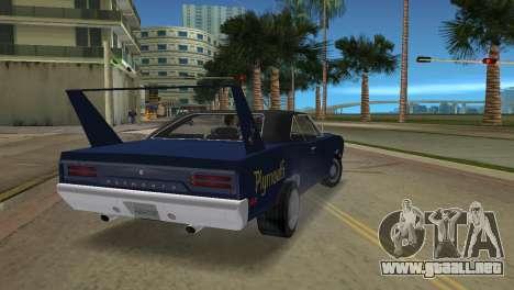 Plymouth Superbird para GTA Vice City left