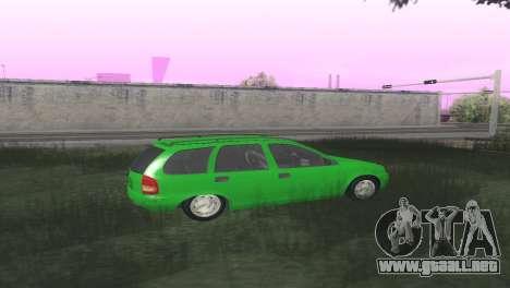Chevrolet Corsa Wagon para la visión correcta GTA San Andreas