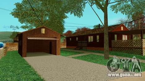 Una casa en el pueblo para GTA San Andreas segunda pantalla
