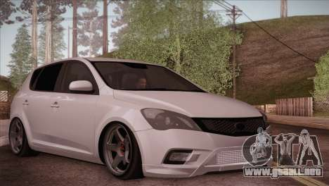 Kia Ceed 2011 para GTA San Andreas
