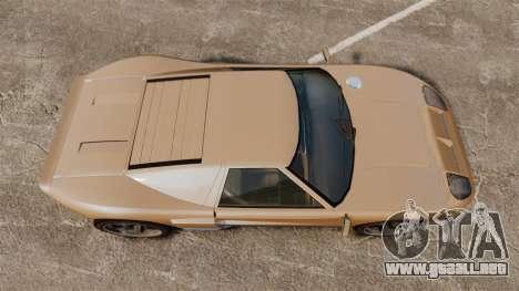 GTA IV TBoGT Vapid Bullet para GTA 4 visión correcta