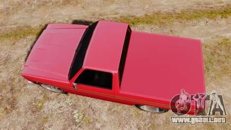 Rancher Lowride para GTA 4 visión correcta