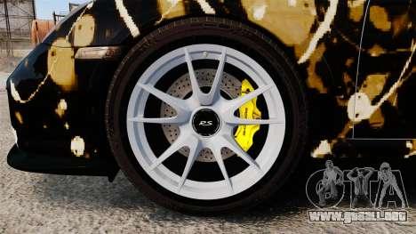 Porsche 911 GT2 RS 2012 BLOB para GTA 4 vista hacia atrás