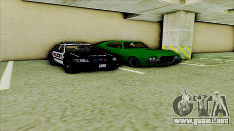 Ford Crown Victoria Police Interceptor para visión interna GTA San Andreas