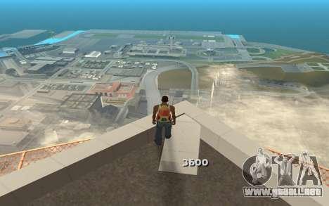 Cambiar el rango de representación para GTA San Andreas sucesivamente de pantalla