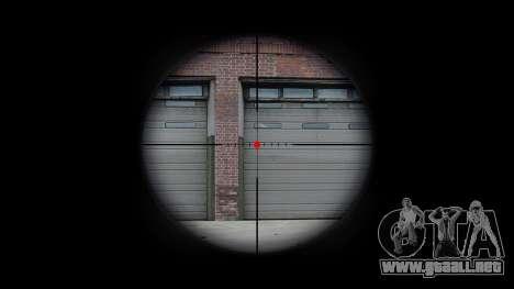 Automático de la carabina M4 para GTA 4 adelante de pantalla