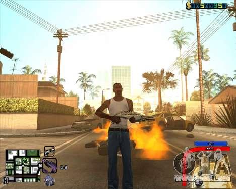 C-HUD by Mark Osborne para GTA San Andreas