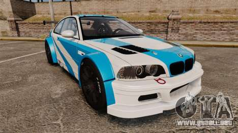 BMW M3 GTR 2012 Most Wanted v1.1 para GTA 4