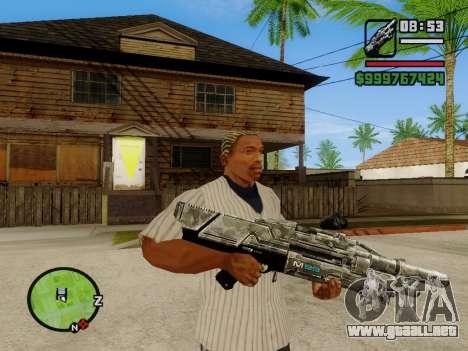 M-86 Sabre v.2 para GTA San Andreas segunda pantalla