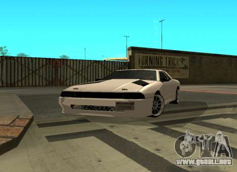 Elegy By Eweest v0.1 para GTA San Andreas left